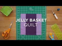 You\'ll be falling for this darling quilt block when you see how easy it is to…
