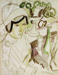 Titolo dell'immagine : Ernst Ludwig Kirchner -