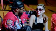 6e7c8d16f790 Versace Mod Col 852 sunglasses and Chicago Bulls jacket worn by Mike WiLL  Made It  Versace sunglasses and vinyl dress worn by Miley Cyrus in 23 by  Mike WiLL ...