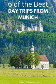 6 of the best day trips from Munich // The Bavarian city makes a great base for exploring southern Germany .. and beyond.  Here are six of the best day trips you can enjoy from Munich.