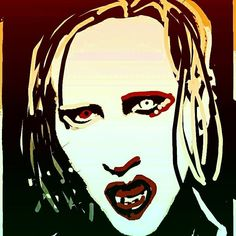 Manson Snapchat Art, Anime