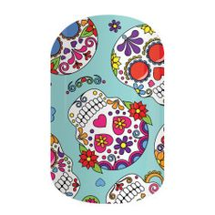 Dia De Los Muertos-- OMG I know I have MANY FRIENDS who would love this Jam!!!!!!!!!!!!!! Contact Miss NikkiBJams.jamberry.com :)