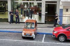 """""""Não podemos abrir exceção"""", justifica coordenador de trânsito de Lajeado sobre multa a criador de carro elétrico - Zero Hora"""