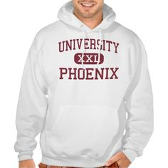 University - Phoenix - High - Roswell New Mexico Hooded Pullovers
