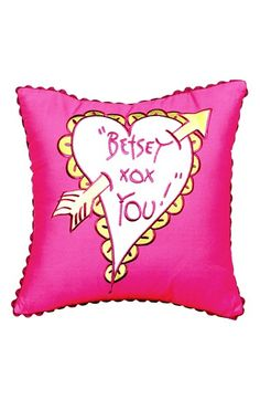 Betsey Johnson Bedding 'Garden Variety XOXO' Accent Pillow available at #Nordstrom