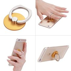 Phone Stand, Multi-Angle Portable Stand for iPhone 6,360 Rotation Luxury 3D Aluminium Metal Ring Grip/Stand Cell Phone Holder for Any Cell Phones Compatible with Apple iPhone 6 Plus 5S 5C 5 4S 4 Samsung Galaxy S6 S5 mini S4 S3; Note 6 5 4 3 8 10 Edge Google Nexus 6 9 7 5 4; HTC One M7 M8 M9; LG G4 G3 G2 (Orange) Generic http://www.amazon.com/dp/B011QDE9EM/ref=cm_sw_r_pi_dp_ds0Vvb0WFVVN5