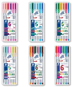 The Triplus Fineliner is an excellent quality needle point pen from world class manufacturer Staedtler. Fineliner Pens, Marker Crafts, Cute Pens, Pen Collection, Cute School Supplies, Mandala, Gel Pens, Stationery, School Supplies