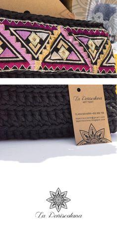 La Peñiscolana - estudio de diseño: Feria San Isidro Textiles, Embroidery, Boho, Diy, Inspiration, Ideas, Studio Apartment Design, Homemade Food, Emerald