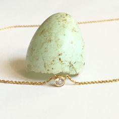 First of the season! Robin's Egg and new diamond and gold necklaces - out soon on POPPYOR.com