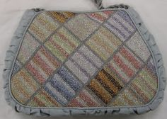 Needle Nicely: purse stitched with Kreinik Ombre