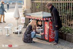 Coca-Cola introduces Mini Can with Mini Kiosk