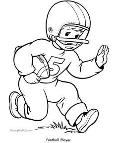 66 Best Football Coloring Pages Images Football Coloring Pages