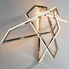 "Niamh Barry, ""Gesture"" Wall-mounted Light Sculpture ~ (Price available upon request)"