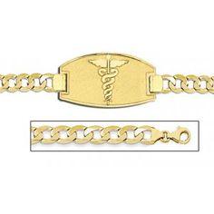14k Gold Medical Alert Bracelet Yahoo Image Search Results