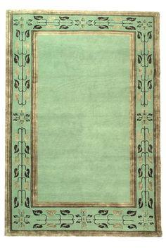 Safavieh Wool & Silk JDK373B-Leaf Stripe Rug. $Unaffordable unless deeply on sale.