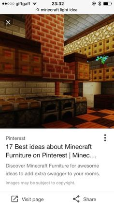 Discover Minecraft Furniture For Awesome Ideas To Add Extra Swagger Your Rooms