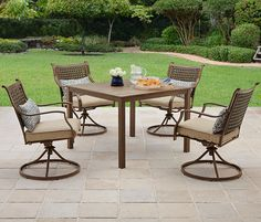 Better Homes and Gardens Lynnhaven Park 5-Piece Dining Set #BHGMakeitFunEntry #BHGMakeitFunEntry