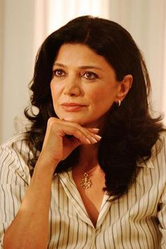 """Shohreh Aghdashloo--absolutely one of my favorite actresses. Wonderful in """"House of Sand and Fog""""."""