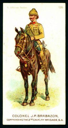Cigarette Card - Colonel Brabazon