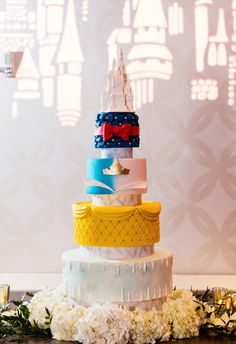Disney Wedding Cake Wednesday: Royal Princesses | Disney Weddings
