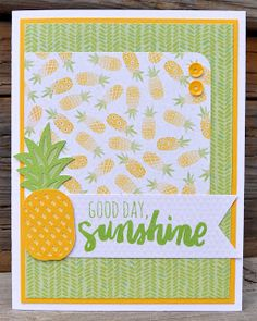 DAT'S My Style: Good Day Sunshine Card by Donna Thompson-Digby CTMH Calypso