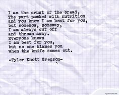 Typewriter Series #652 by Tyler Knott Gregson