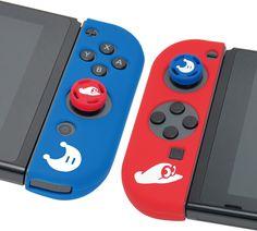 Amazon.com: HORI Super Mario Odyssey Accessory Set Officially Licensed - Nintendo Switch: Video Games