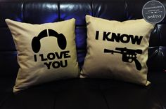Hey, I found this really awesome Etsy listing at https://www.etsy.com/listing/255210284/sale-i-love-you-i-know-star-wars-pillow