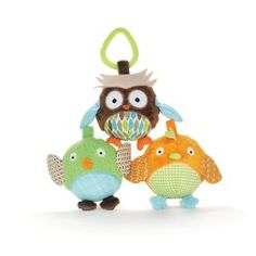 Skip Hop Treetop Friends Animal Ball Trio to hang on car seat bar!  $15