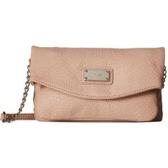 Nine West Tunnel Crossbody Blush Cross Body Handbags 25 Liked On Polyvore Featuring Bags Shoulder Pink Bag