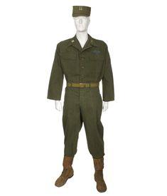 Army Fatigue Uniform Summer w/ Insignia Julius Caesar Costume, America's Army, Army Fatigue, United States Army, Korean War, Vietnam War, Military Jacket, Military Uniforms, Armed Forces