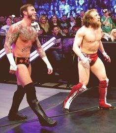 Punk and Bryan #WWE