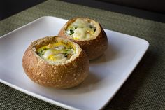 Breakfast Bread Bowls!