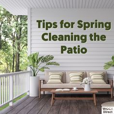 Outdoor Wood Projects, Outdoor Wood Furniture, Wood Surface, Spring Cleaning, Decks, Cleaning Hacks, Eye Candy, Porch, Hardwood