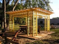 wood patio covers backyard ~ http://lanewstalk.com/unusually ... - Wood Patio Cover Designs