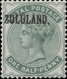 Forged stamps of Zululand - Genuine vs. Kwazulu Natal, Tampons, Commonwealth, Postage Stamps, Colonial, South Africa, Empire, British, African