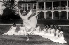 Martha Graham and Students, Bennington College