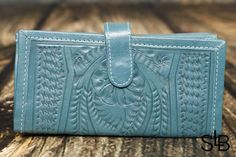 Leather Organizer Wallet - Tooled RW6206