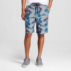 f630a658cb Men's Grey Floral Terry Drawstring Shorts- Mossimo Supply Co.™ Mossimo  Supply Co,