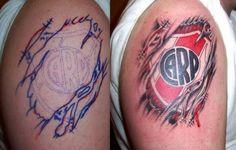 Soccer Tattoos, River Tattoo, Tatoos, Watercolor Tattoo, Pumas, Carp, Mini, Grande, Flower