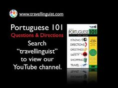 Portuguese 101 - Directions - Level One
