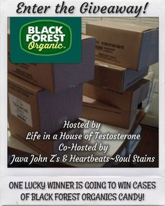 BLACK FOREST ORGANICS CANDY #GIVEAWAY - Heartbeats~ Soul Stains