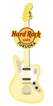 Hard Rock Cefe Japan | Fender Spray Guitar Pin