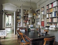 home libraries1 Cool home libraries