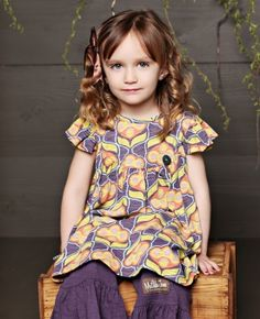 Matilda Jane You and Me Line 2012 - Kitten Pearl Dress