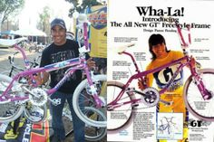 GT pro freestyler, Eddie Fiola, then & now!