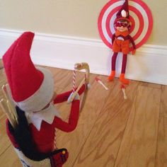 Little Bit Funky: {more} awesome elf on the shelf ideas!