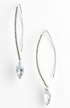 #Judith Jack              #Jewelry                  #Judith #Jack #Linear #Marquise #Drop #Earrings #Silver/ #Crystal             Judith Jack Linear Marquise Drop Earrings Silver/ Crystal                                               http://www.snaproduct.com/product.aspx?PID=5293870