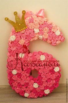 Fotos En Cumpleaños Ballerina Birthday, Twin Birthday, Birthday Goals, 6th Birthday Parties, Homemade Business, Girl Spa Party, Diy Birthday Decorations, Diy Letters, Paper Flowers Diy
