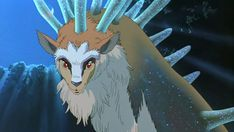 Princess Mononoke Deer God